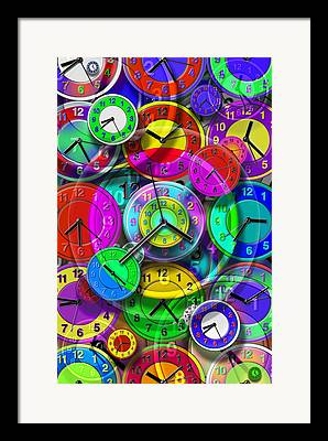 Time Related Framed Prints
