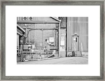 Factory Framed Print