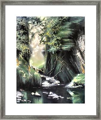 Fairy Glen Framed Print