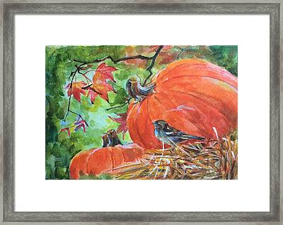 Fall Is Here Framed Print by Jieming Wang