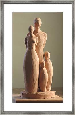 Family Framed Print by Deborah Dendler