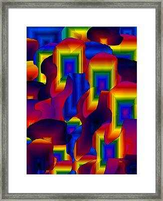 Framed Print featuring the digital art Fantastic by Gayle Price Thomas
