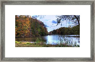 Farrington Lake Framed Print by Louise Reeves