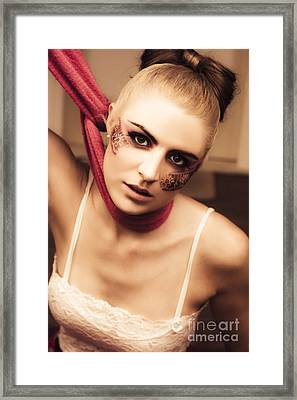 Fashion Victim Framed Print by Jorgo Photography - Wall Art Gallery
