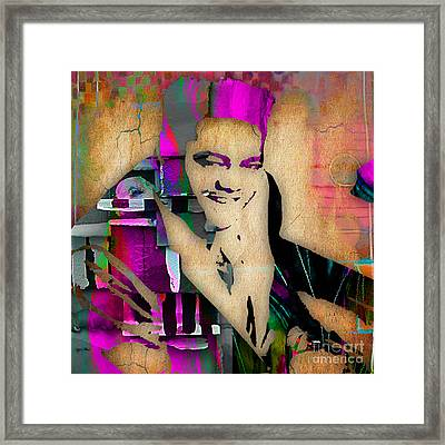 Fats Domino Collection Framed Print