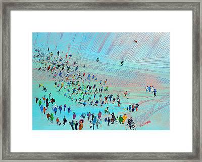 Fell Runners Framed Print