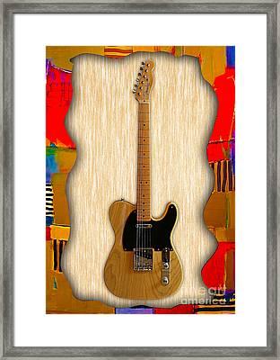 Fender Telecaster Collection Framed Print