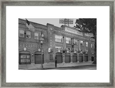 Fenway Park - Best Of Boston Framed Print by Susan Candelario
