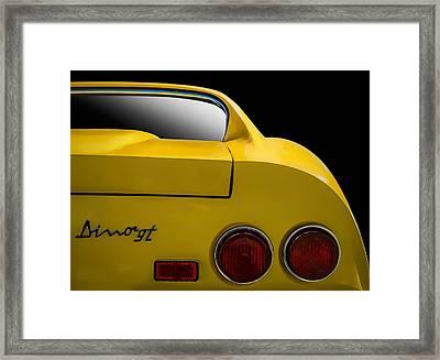 Ferrari Dino Framed Print by Douglas Pittman