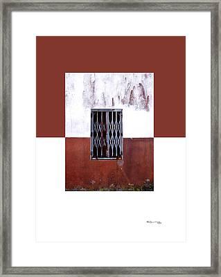 Fiestra 3 Framed Print