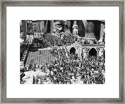Film Intolerance, 1916 Framed Print