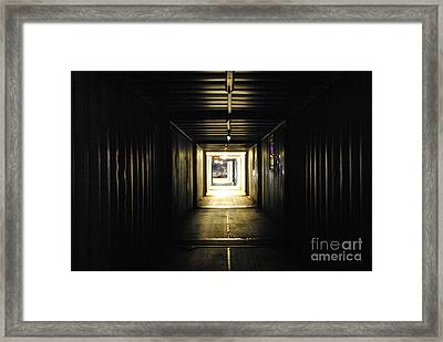 Framed Print featuring the photograph Final Exit by Maja Sokolowska