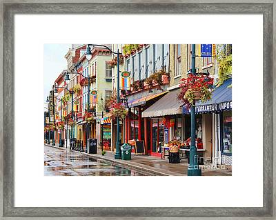 Findlay Market In Cincinnati 0009 Framed Print