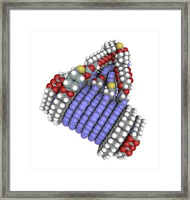 Fine-motion Molecular Controller Framed Print by Alfred Pasieka