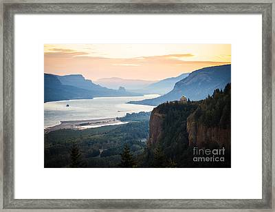 First Light Framed Print by Patricia Babbitt