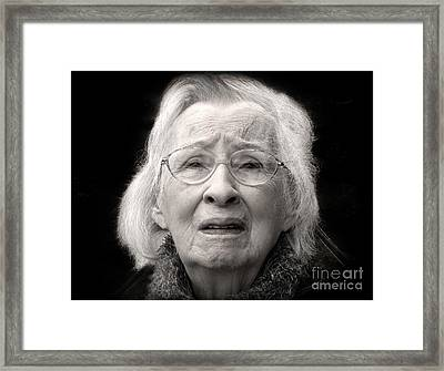 Five Minutes In A Long Life Framed Print