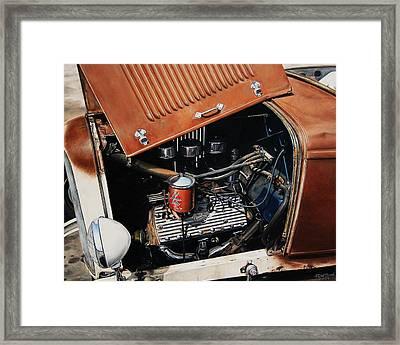 Flathead Framed Print by Ruben Duran