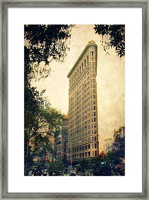Flatiron District Framed Print