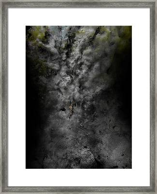 Floater Framed Print by David Fox