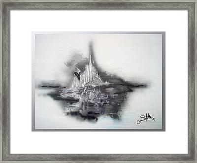 Floating Image Framed Print