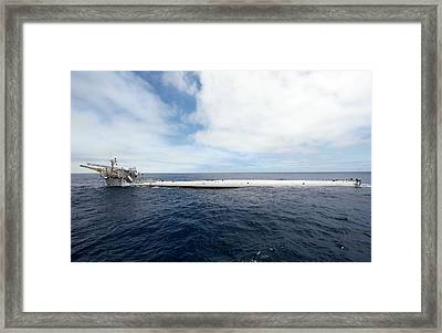 Floating Instrument Platform (flip) Framed Print