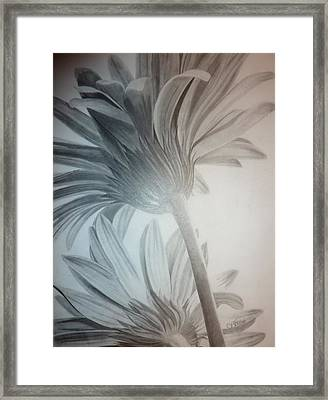 Floral Rising  Framed Print by Christine  Blodgett