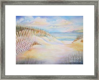 Florida Skies Framed Print by Deborah Ronglien