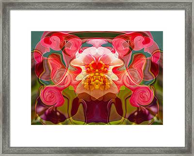 Flower Child Framed Print by Omaste Witkowski
