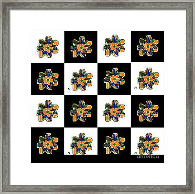 Flower Dance 2 Framed Print