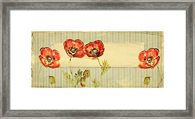 Flower Framed Print by Heike Hultsch