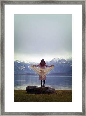 Flying Framed Print by Joana Kruse