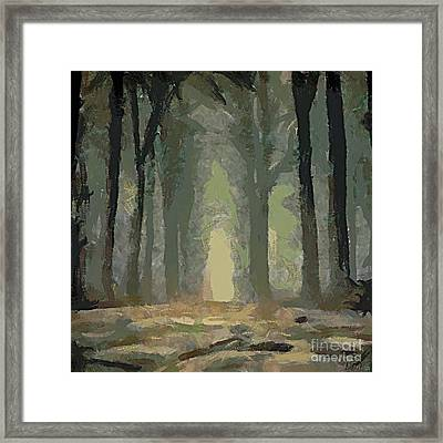 Foggy Day Framed Print by Dragica  Micki Fortuna