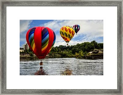 Follow The Leader Framed Print by Brenda Giasson