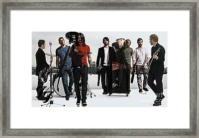 Foo Fighters Framed Print