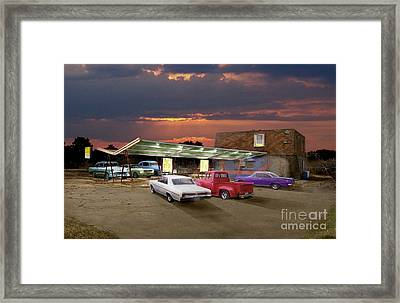 Food And Suds Framed Print by Tom Straub