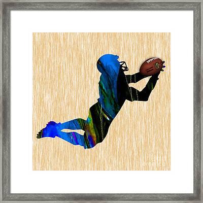 Football Framed Print