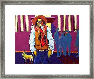 For Members Only Framed Print by Joe  Triano