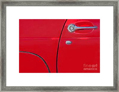 Ford Thunderbird Framed Print by Elena Nosyreva