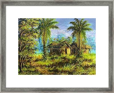 Forest House Framed Print