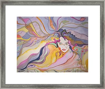 Forever Framed Print by Diana Bursztein