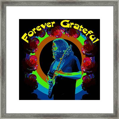 Forever Grateful Framed Print by Ben Upham III