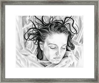 Forget Me Not - Laura Palmer - Twin Peaks Framed Print by Fred Larucci