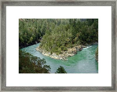 Forks Of The Smith River Framed Print