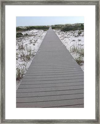 Fort Pickens Florida Framed Print by Retro Images Archive