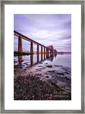 Forth Rail Bridge Framed Print by John Farnan