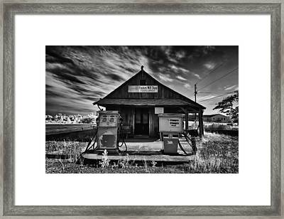 Foster's Mill Store Framed Print