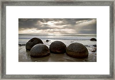 Foursome Framed Print