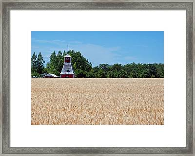 Framed Print featuring the photograph Fox Tower by Keith Armstrong