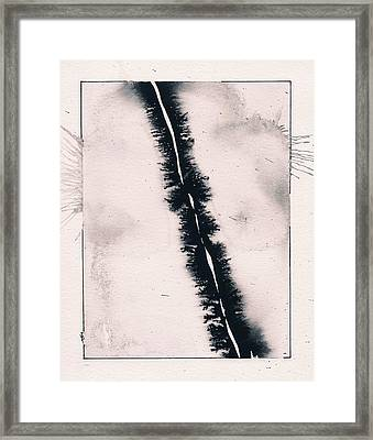 Fracture Framed Print by Marc Philippe Joly