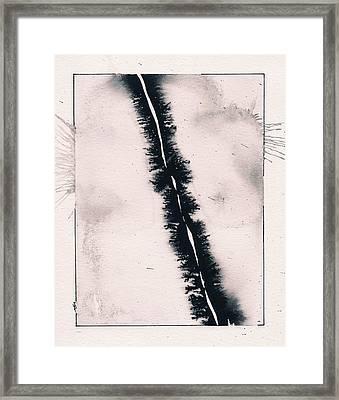 Fracture Framed Print